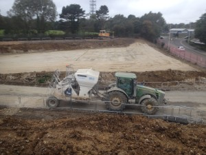 SGE soil stabilisation